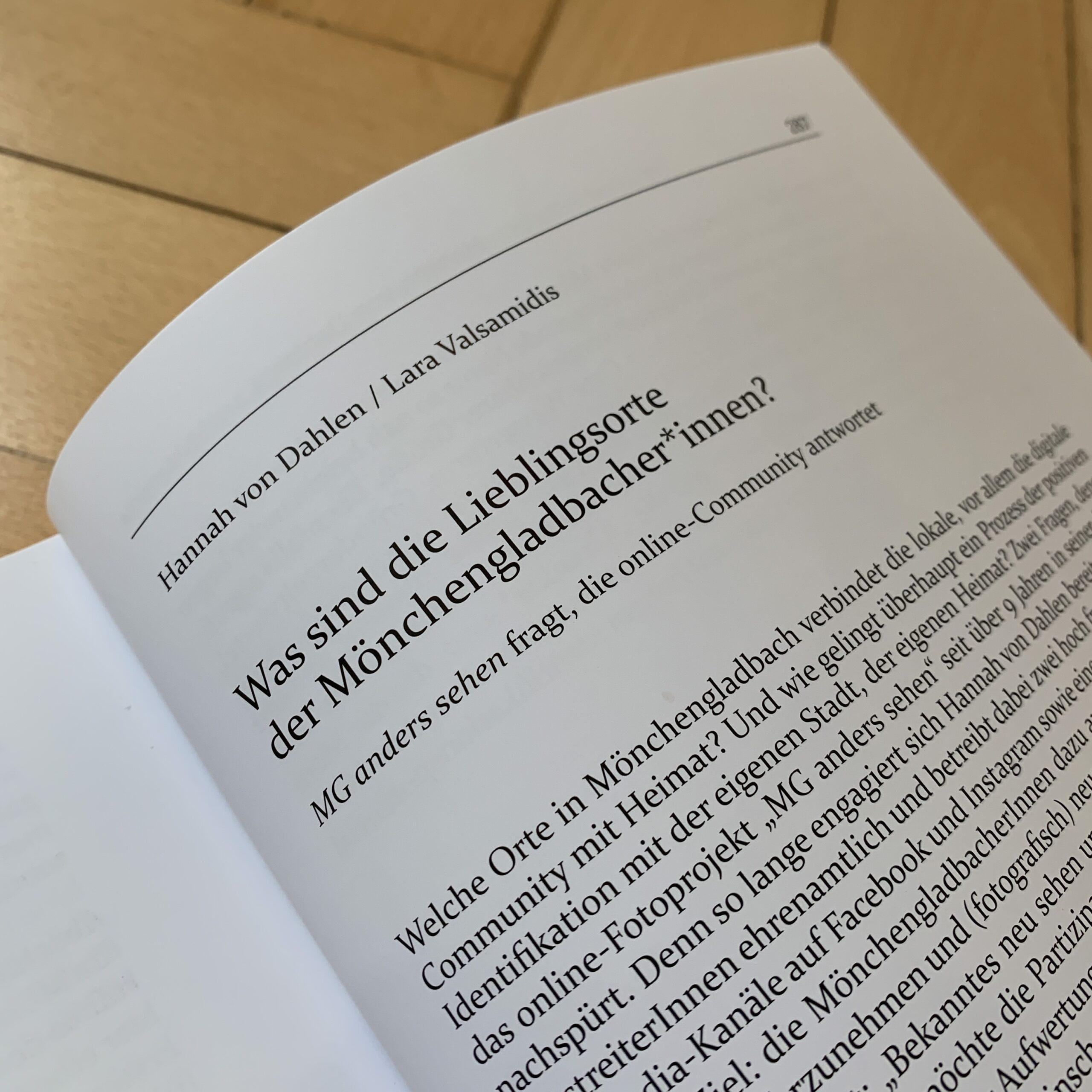 Heimat, Identität und Mönchengladbach / 2020